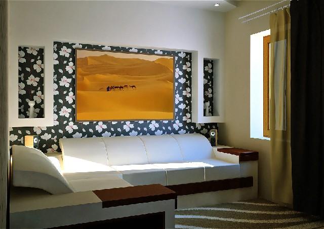 Дизайн интерьера гостиной спальни