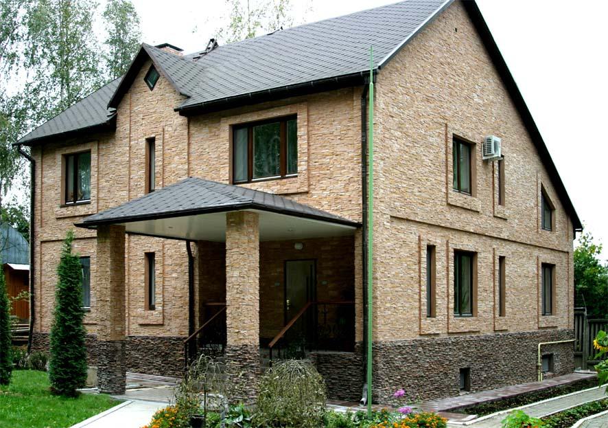 Отделка фундаментов частных домов фото 2