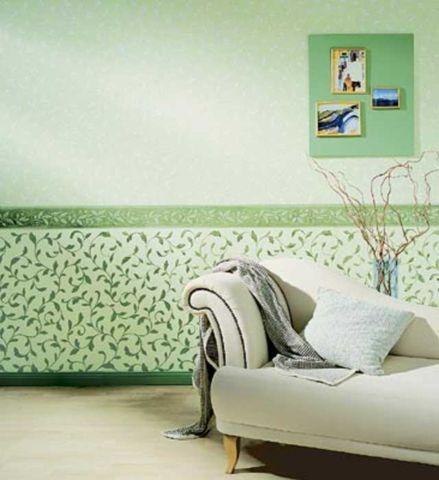 Дизайн спальни обои в цветочек