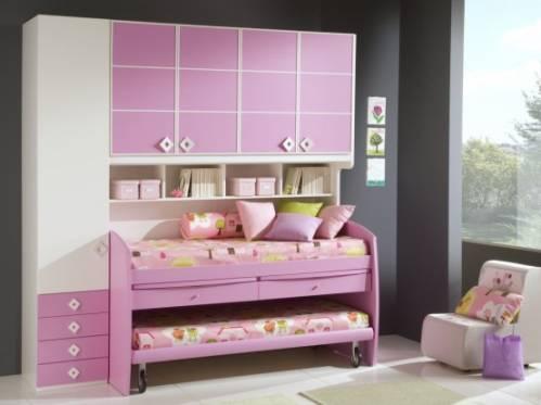 Дизайн интерьера детской для двух девочек
