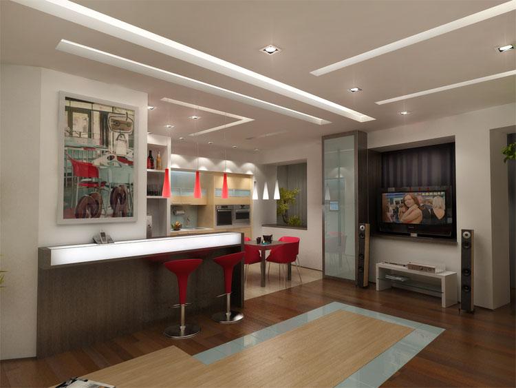 Кухня-столовая фото дизайн интерьера