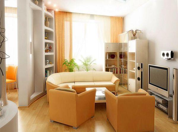 Сделать дизайн гостиной